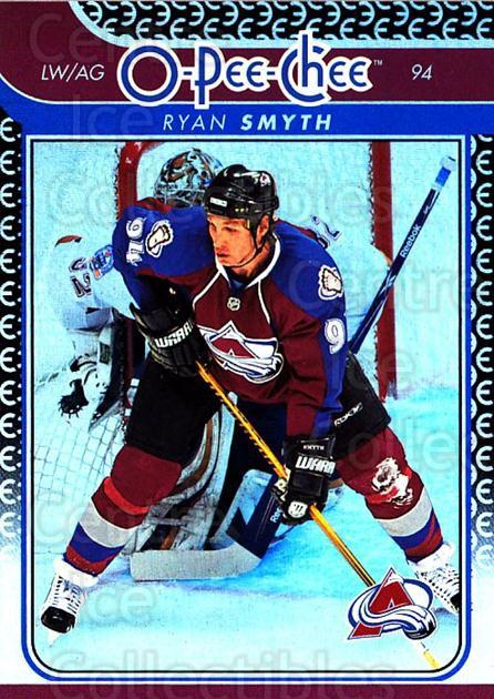 2009-10 O-pee-chee Rainbow #62 Ryan Smyth<br/>2 In Stock - $2.00 each - <a href=https://centericecollectibles.foxycart.com/cart?name=2009-10%20O-pee-chee%20Rainbow%20%2362%20Ryan%20Smyth...&quantity_max=2&price=$2.00&code=499223 class=foxycart> Buy it now! </a>