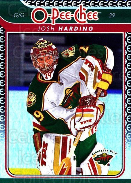 2009-10 O-pee-chee Rainbow #67 Josh Harding<br/>2 In Stock - $2.00 each - <a href=https://centericecollectibles.foxycart.com/cart?name=2009-10%20O-pee-chee%20Rainbow%20%2367%20Josh%20Harding...&quantity_max=2&price=$2.00&code=499228 class=foxycart> Buy it now! </a>