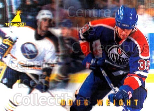 1996-97 McDonalds Pinnacle #16 Doug Weight<br/>9 In Stock - $1.00 each - <a href=https://centericecollectibles.foxycart.com/cart?name=1996-97%20McDonalds%20Pinnacle%20%2316%20Doug%20Weight...&quantity_max=9&price=$1.00&code=49922 class=foxycart> Buy it now! </a>