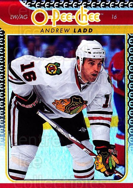 2009-10 O-pee-chee Rainbow #81 Andrew Ladd<br/>2 In Stock - $2.00 each - <a href=https://centericecollectibles.foxycart.com/cart?name=2009-10%20O-pee-chee%20Rainbow%20%2381%20Andrew%20Ladd...&quantity_max=2&price=$2.00&code=499242 class=foxycart> Buy it now! </a>