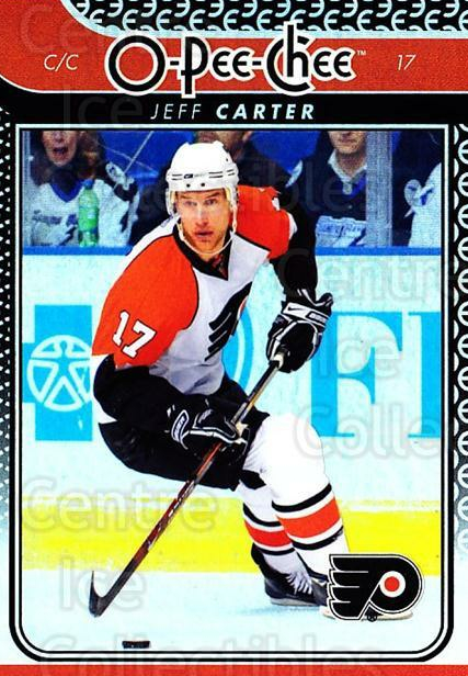 2009-10 O-pee-chee Rainbow #90 Jeff Carter<br/>2 In Stock - $2.00 each - <a href=https://centericecollectibles.foxycart.com/cart?name=2009-10%20O-pee-chee%20Rainbow%20%2390%20Jeff%20Carter...&quantity_max=2&price=$2.00&code=499251 class=foxycart> Buy it now! </a>