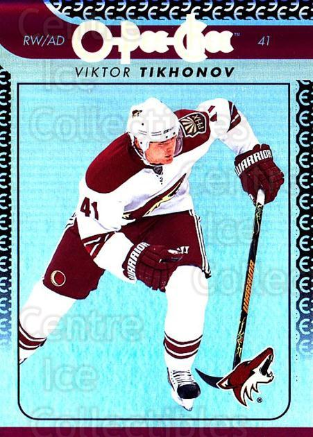 2009-10 O-pee-chee Rainbow #91 Viktor Tikhonov<br/>2 In Stock - $2.00 each - <a href=https://centericecollectibles.foxycart.com/cart?name=2009-10%20O-pee-chee%20Rainbow%20%2391%20Viktor%20Tikhonov...&quantity_max=2&price=$2.00&code=499252 class=foxycart> Buy it now! </a>