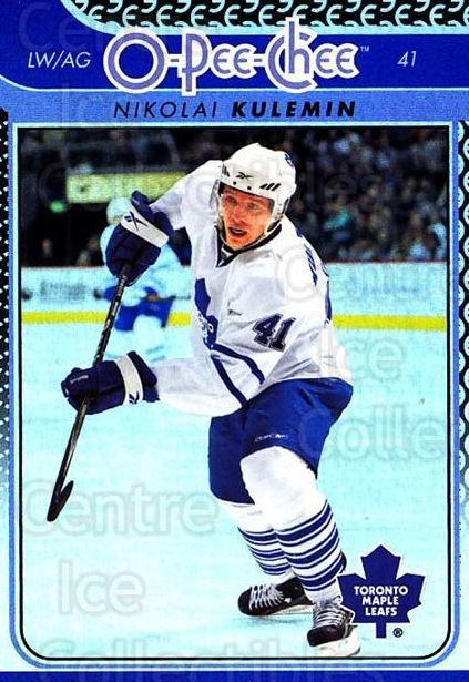 2009-10 O-pee-chee Rainbow #94 Nikolai Kulemin<br/>2 In Stock - $2.00 each - <a href=https://centericecollectibles.foxycart.com/cart?name=2009-10%20O-pee-chee%20Rainbow%20%2394%20Nikolai%20Kulemin...&quantity_max=2&price=$2.00&code=499255 class=foxycart> Buy it now! </a>