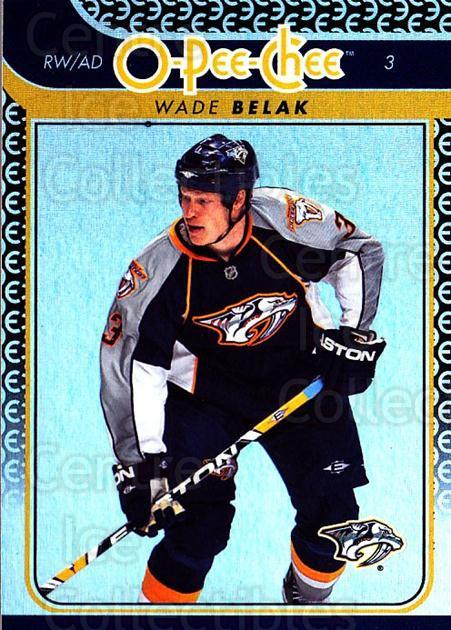 2009-10 O-pee-chee Rainbow #96 Wade Belak<br/>2 In Stock - $2.00 each - <a href=https://centericecollectibles.foxycart.com/cart?name=2009-10%20O-pee-chee%20Rainbow%20%2396%20Wade%20Belak...&quantity_max=2&price=$2.00&code=499257 class=foxycart> Buy it now! </a>