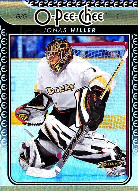 2009-10 O-pee-chee Rainbow #97 Jonas Hiller<br/>1 In Stock - $2.00 each - <a href=https://centericecollectibles.foxycart.com/cart?name=2009-10%20O-pee-chee%20Rainbow%20%2397%20Jonas%20Hiller...&quantity_max=1&price=$2.00&code=499258 class=foxycart> Buy it now! </a>