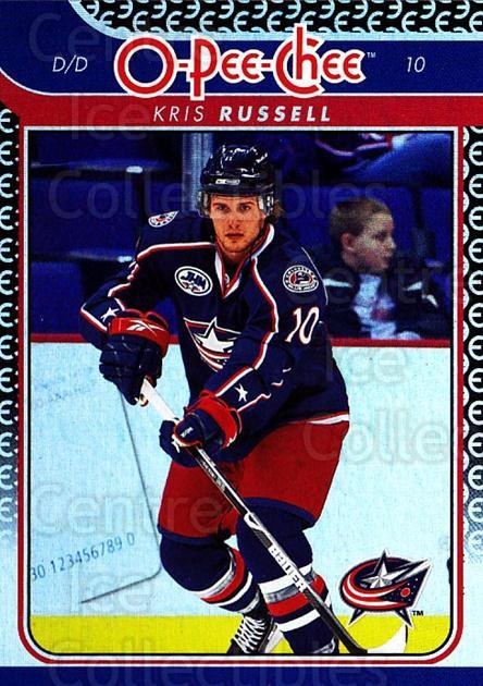 2009-10 O-pee-chee Rainbow #102 Kris Russell<br/>2 In Stock - $2.00 each - <a href=https://centericecollectibles.foxycart.com/cart?name=2009-10%20O-pee-chee%20Rainbow%20%23102%20Kris%20Russell...&quantity_max=2&price=$2.00&code=499263 class=foxycart> Buy it now! </a>