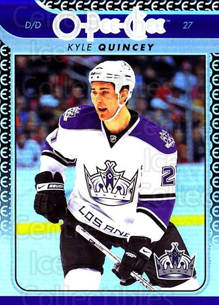 2009-10 O-pee-chee Rainbow #105 Kyle Quincey<br/>2 In Stock - $2.00 each - <a href=https://centericecollectibles.foxycart.com/cart?name=2009-10%20O-pee-chee%20Rainbow%20%23105%20Kyle%20Quincey...&quantity_max=2&price=$2.00&code=499266 class=foxycart> Buy it now! </a>