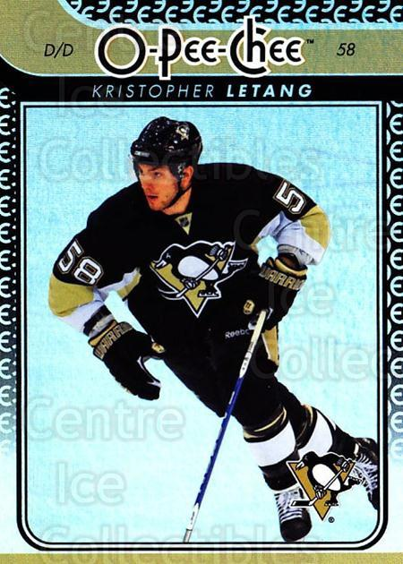 2009-10 O-pee-chee Rainbow #110 Kristopher Letang<br/>2 In Stock - $2.00 each - <a href=https://centericecollectibles.foxycart.com/cart?name=2009-10%20O-pee-chee%20Rainbow%20%23110%20Kristopher%20Leta...&quantity_max=2&price=$2.00&code=499271 class=foxycart> Buy it now! </a>