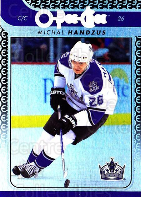 2009-10 O-pee-chee Rainbow #124 Michal Handzus<br/>2 In Stock - $2.00 each - <a href=https://centericecollectibles.foxycart.com/cart?name=2009-10%20O-pee-chee%20Rainbow%20%23124%20Michal%20Handzus...&quantity_max=2&price=$2.00&code=499285 class=foxycart> Buy it now! </a>