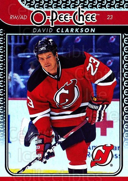 2009-10 O-pee-chee Rainbow #126 David Clarkson<br/>2 In Stock - $2.00 each - <a href=https://centericecollectibles.foxycart.com/cart?name=2009-10%20O-pee-chee%20Rainbow%20%23126%20David%20Clarkson...&quantity_max=2&price=$2.00&code=499287 class=foxycart> Buy it now! </a>