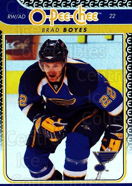 2009-10 O-pee-chee Rainbow #130 Brad Boyes<br/>2 In Stock - $2.00 each - <a href=https://centericecollectibles.foxycart.com/cart?name=2009-10%20O-pee-chee%20Rainbow%20%23130%20Brad%20Boyes...&quantity_max=2&price=$2.00&code=499291 class=foxycart> Buy it now! </a>