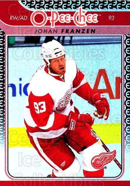 2009-10 O-pee-chee Rainbow #140 Johan Franzen<br/>2 In Stock - $2.00 each - <a href=https://centericecollectibles.foxycart.com/cart?name=2009-10%20O-pee-chee%20Rainbow%20%23140%20Johan%20Franzen...&quantity_max=2&price=$2.00&code=499301 class=foxycart> Buy it now! </a>