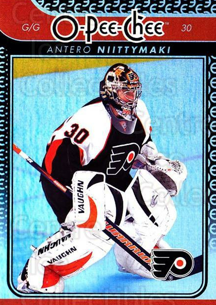 2009-10 O-pee-chee Rainbow #146 Antero Niittymaki<br/>2 In Stock - $2.00 each - <a href=https://centericecollectibles.foxycart.com/cart?name=2009-10%20O-pee-chee%20Rainbow%20%23146%20Antero%20Niittyma...&quantity_max=2&price=$2.00&code=499307 class=foxycart> Buy it now! </a>