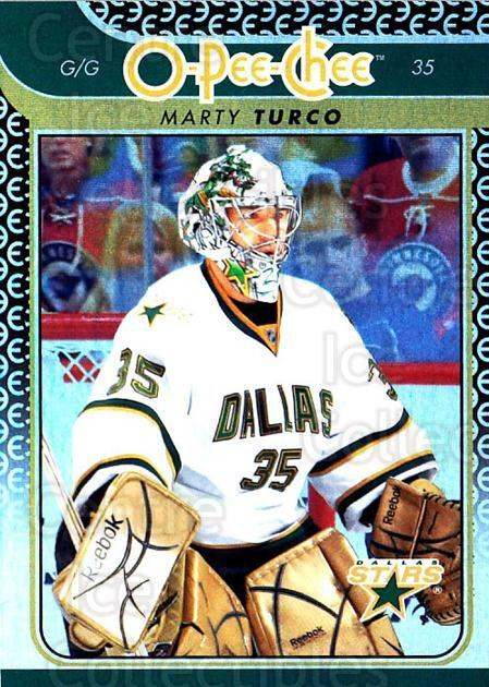 2009-10 O-pee-chee Rainbow #158 Marty Turco<br/>2 In Stock - $2.00 each - <a href=https://centericecollectibles.foxycart.com/cart?name=2009-10%20O-pee-chee%20Rainbow%20%23158%20Marty%20Turco...&quantity_max=2&price=$2.00&code=499319 class=foxycart> Buy it now! </a>