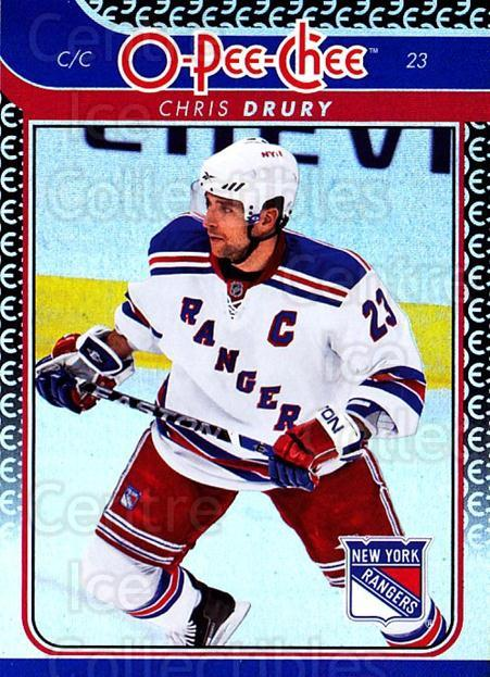 2009-10 O-pee-chee Rainbow #166 Chris Drury<br/>2 In Stock - $2.00 each - <a href=https://centericecollectibles.foxycart.com/cart?name=2009-10%20O-pee-chee%20Rainbow%20%23166%20Chris%20Drury...&quantity_max=2&price=$2.00&code=499327 class=foxycart> Buy it now! </a>