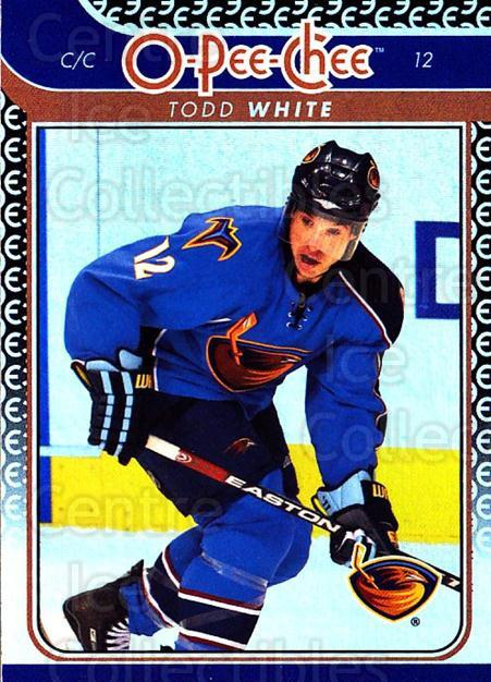 2009-10 O-pee-chee Rainbow #190 Todd White<br/>2 In Stock - $2.00 each - <a href=https://centericecollectibles.foxycart.com/cart?name=2009-10%20O-pee-chee%20Rainbow%20%23190%20Todd%20White...&quantity_max=2&price=$2.00&code=499351 class=foxycart> Buy it now! </a>