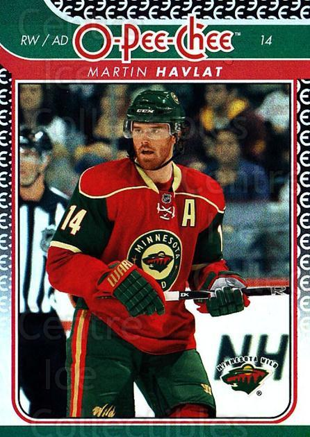 2009-10 O-pee-chee Rainbow #668 Martin Havlat<br/>1 In Stock - $2.00 each - <a href=https://centericecollectibles.foxycart.com/cart?name=2009-10%20O-pee-chee%20Rainbow%20%23668%20Martin%20Havlat...&quantity_max=1&price=$2.00&code=499381 class=foxycart> Buy it now! </a>