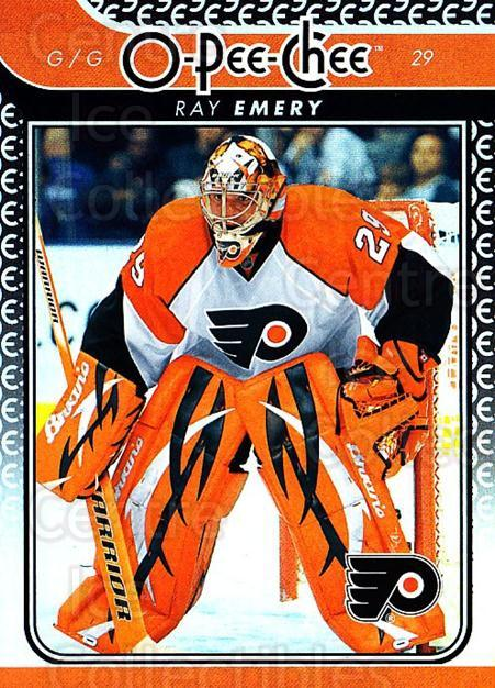 2009-10 O-pee-chee Rainbow #678 Ray Emery<br/>1 In Stock - $2.00 each - <a href=https://centericecollectibles.foxycart.com/cart?name=2009-10%20O-pee-chee%20Rainbow%20%23678%20Ray%20Emery...&quantity_max=1&price=$2.00&code=499391 class=foxycart> Buy it now! </a>