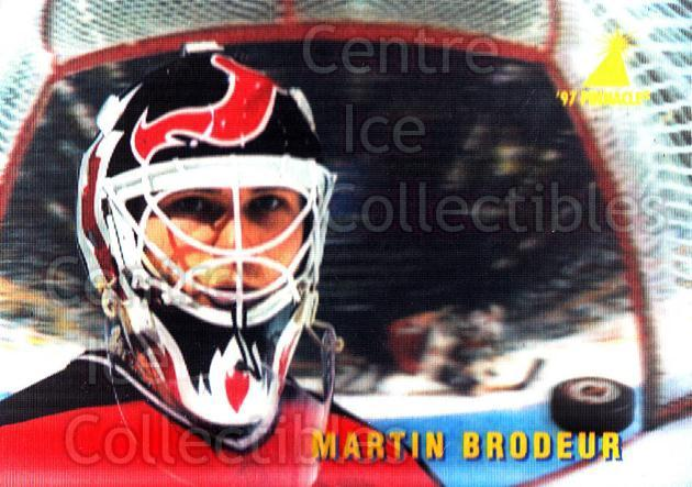 1996-97 McDonalds Pinnacle #33 Martin Brodeur<br/>7 In Stock - $2.00 each - <a href=https://centericecollectibles.foxycart.com/cart?name=1996-97%20McDonalds%20Pinnacle%20%2333%20Martin%20Brodeur...&price=$2.00&code=49939 class=foxycart> Buy it now! </a>