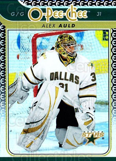 2009-10 O-pee-chee Rainbow #695 Alex Auld<br/>1 In Stock - $2.00 each - <a href=https://centericecollectibles.foxycart.com/cart?name=2009-10%20O-pee-chee%20Rainbow%20%23695%20Alex%20Auld...&quantity_max=1&price=$2.00&code=499408 class=foxycart> Buy it now! </a>