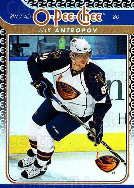 2009-10 O-pee-chee Rainbow #698 Nik Antropov<br/>1 In Stock - $2.00 each - <a href=https://centericecollectibles.foxycart.com/cart?name=2009-10%20O-pee-chee%20Rainbow%20%23698%20Nik%20Antropov...&quantity_max=1&price=$2.00&code=499411 class=foxycart> Buy it now! </a>
