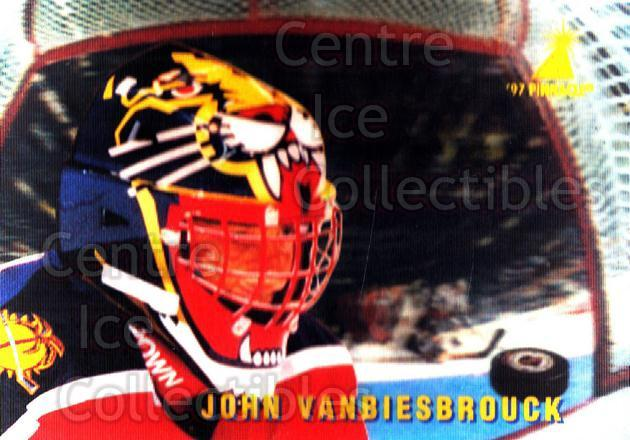1996-97 McDonalds Pinnacle #35 John Vanbiesbrouck<br/>7 In Stock - $1.00 each - <a href=https://centericecollectibles.foxycart.com/cart?name=1996-97%20McDonalds%20Pinnacle%20%2335%20John%20Vanbiesbro...&quantity_max=7&price=$1.00&code=49941 class=foxycart> Buy it now! </a>