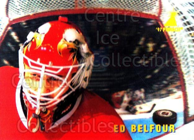 1996-97 McDonalds Pinnacle #37 Ed Belfour<br/>2 In Stock - $1.00 each - <a href=https://centericecollectibles.foxycart.com/cart?name=1996-97%20McDonalds%20Pinnacle%20%2337%20Ed%20Belfour...&price=$1.00&code=49943 class=foxycart> Buy it now! </a>