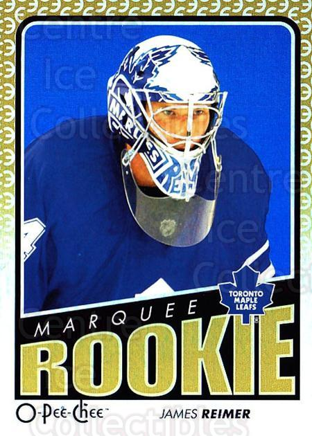 2009-10 O-pee-chee Rainbow #782 James Reimer<br/>1 In Stock - $5.00 each - <a href=https://centericecollectibles.foxycart.com/cart?name=2009-10%20O-pee-chee%20Rainbow%20%23782%20James%20Reimer...&price=$5.00&code=499495 class=foxycart> Buy it now! </a>