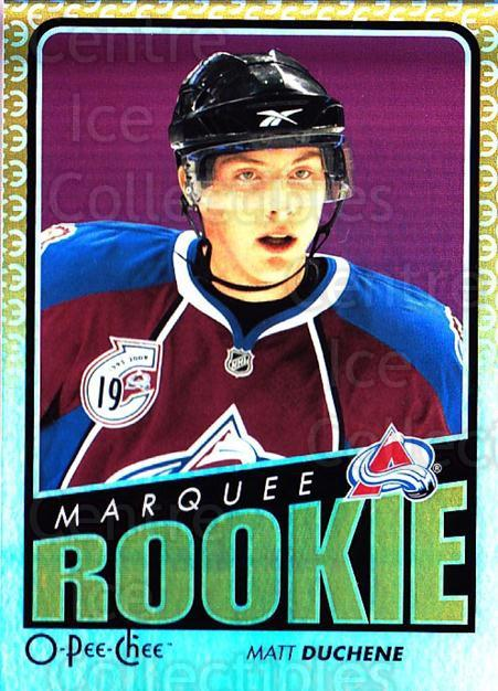 2009-10 O-pee-chee Rainbow #799 Matt Duchene<br/>1 In Stock - $10.00 each - <a href=https://centericecollectibles.foxycart.com/cart?name=2009-10%20O-pee-chee%20Rainbow%20%23799%20Matt%20Duchene...&quantity_max=1&price=$10.00&code=499512 class=foxycart> Buy it now! </a>