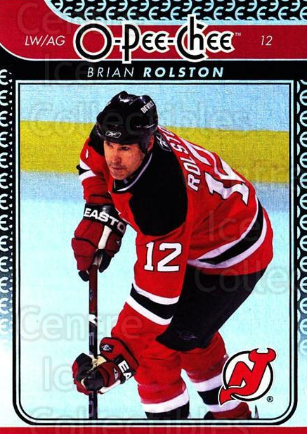 2009-10 O-pee-chee Rainbow #200 Brian Rolston<br/>2 In Stock - $2.00 each - <a href=https://centericecollectibles.foxycart.com/cart?name=2009-10%20O-pee-chee%20Rainbow%20%23200%20Brian%20Rolston...&quantity_max=2&price=$2.00&code=499523 class=foxycart> Buy it now! </a>