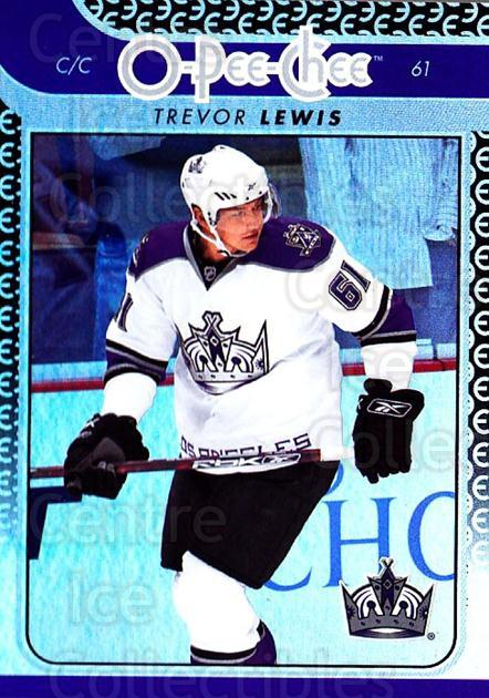 2009-10 O-pee-chee Rainbow #216 Trevor Lewis<br/>2 In Stock - $2.00 each - <a href=https://centericecollectibles.foxycart.com/cart?name=2009-10%20O-pee-chee%20Rainbow%20%23216%20Trevor%20Lewis...&quantity_max=2&price=$2.00&code=499539 class=foxycart> Buy it now! </a>