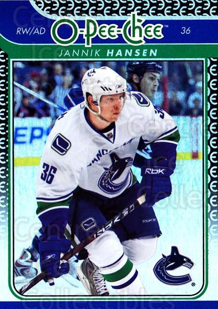 2009-10 O-pee-chee Rainbow #224 Jannik Hansen<br/>1 In Stock - $2.00 each - <a href=https://centericecollectibles.foxycart.com/cart?name=2009-10%20O-pee-chee%20Rainbow%20%23224%20Jannik%20Hansen...&quantity_max=1&price=$2.00&code=499547 class=foxycart> Buy it now! </a>