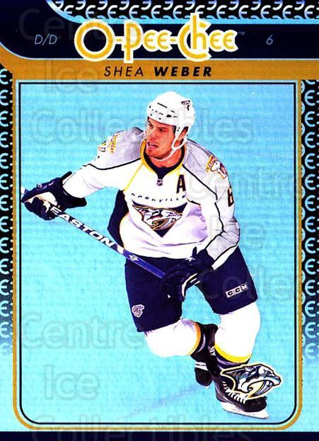 2009-10 O-pee-chee Rainbow #225 Shea Weber<br/>2 In Stock - $2.00 each - <a href=https://centericecollectibles.foxycart.com/cart?name=2009-10%20O-pee-chee%20Rainbow%20%23225%20Shea%20Weber...&quantity_max=2&price=$2.00&code=499548 class=foxycart> Buy it now! </a>