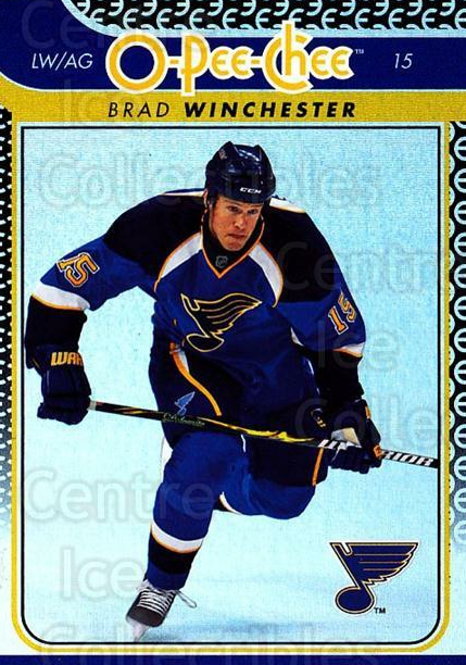 2009-10 O-pee-chee Rainbow #226 Brad Winchester<br/>2 In Stock - $2.00 each - <a href=https://centericecollectibles.foxycart.com/cart?name=2009-10%20O-pee-chee%20Rainbow%20%23226%20Brad%20Winchester...&quantity_max=2&price=$2.00&code=499549 class=foxycart> Buy it now! </a>