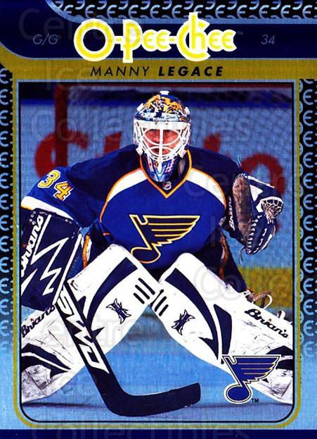 2009-10 O-pee-chee Rainbow #261 Manny Legace<br/>2 In Stock - $2.00 each - <a href=https://centericecollectibles.foxycart.com/cart?name=2009-10%20O-pee-chee%20Rainbow%20%23261%20Manny%20Legace...&quantity_max=2&price=$2.00&code=499584 class=foxycart> Buy it now! </a>