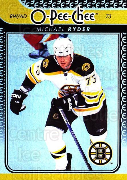 2009-10 O-pee-chee Rainbow #286 Michael Ryder<br/>1 In Stock - $2.00 each - <a href=https://centericecollectibles.foxycart.com/cart?name=2009-10%20O-pee-chee%20Rainbow%20%23286%20Michael%20Ryder...&quantity_max=1&price=$2.00&code=499609 class=foxycart> Buy it now! </a>