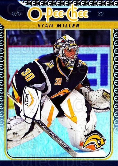 2009-10 O-pee-chee Rainbow #287 Ryan Miller<br/>2 In Stock - $2.00 each - <a href=https://centericecollectibles.foxycart.com/cart?name=2009-10%20O-pee-chee%20Rainbow%20%23287%20Ryan%20Miller...&quantity_max=2&price=$2.00&code=499610 class=foxycart> Buy it now! </a>