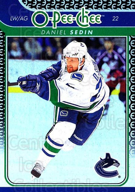 2009-10 O-pee-chee Rainbow #302 Daniel Sedin<br/>2 In Stock - $2.00 each - <a href=https://centericecollectibles.foxycart.com/cart?name=2009-10%20O-pee-chee%20Rainbow%20%23302%20Daniel%20Sedin...&quantity_max=2&price=$2.00&code=499625 class=foxycart> Buy it now! </a>