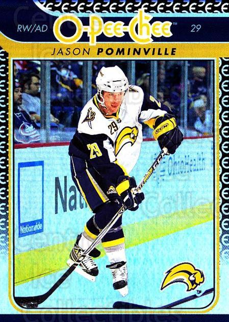 2009-10 O-pee-chee Rainbow #307 Jason Pominville<br/>2 In Stock - $2.00 each - <a href=https://centericecollectibles.foxycart.com/cart?name=2009-10%20O-pee-chee%20Rainbow%20%23307%20Jason%20Pominvill...&quantity_max=2&price=$2.00&code=499630 class=foxycart> Buy it now! </a>