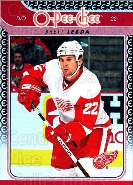 2009-10 O-pee-chee Rainbow #312 Brett Lebda<br/>2 In Stock - $2.00 each - <a href=https://centericecollectibles.foxycart.com/cart?name=2009-10%20O-pee-chee%20Rainbow%20%23312%20Brett%20Lebda...&quantity_max=2&price=$2.00&code=499635 class=foxycart> Buy it now! </a>