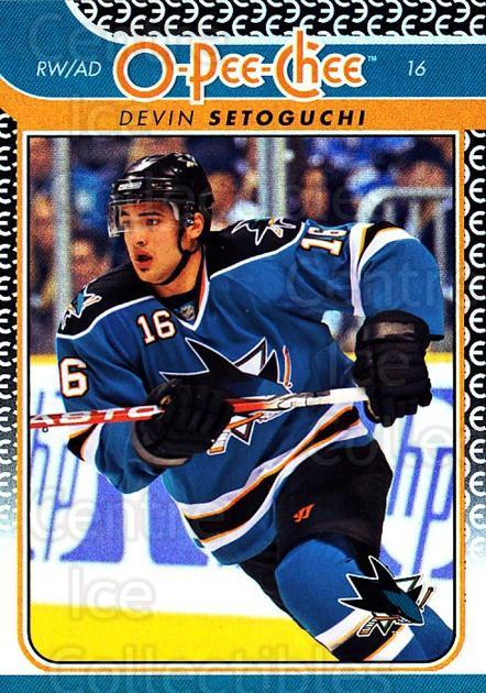 2009-10 O-pee-chee Rainbow #320 Devin Setoguchi<br/>2 In Stock - $2.00 each - <a href=https://centericecollectibles.foxycart.com/cart?name=2009-10%20O-pee-chee%20Rainbow%20%23320%20Devin%20Setoguchi...&quantity_max=2&price=$2.00&code=499643 class=foxycart> Buy it now! </a>