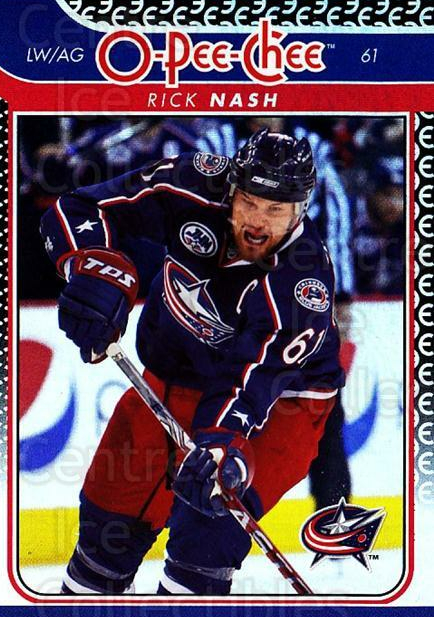 2009-10 O-pee-chee Rainbow #330 Rick Nash<br/>2 In Stock - $2.00 each - <a href=https://centericecollectibles.foxycart.com/cart?name=2009-10%20O-pee-chee%20Rainbow%20%23330%20Rick%20Nash...&quantity_max=2&price=$2.00&code=499653 class=foxycart> Buy it now! </a>
