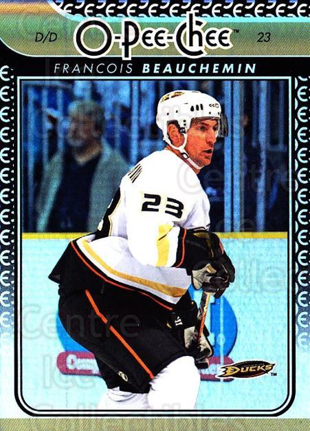 2009-10 O-pee-chee Rainbow #345 Francois Beauchemin<br/>2 In Stock - $2.00 each - <a href=https://centericecollectibles.foxycart.com/cart?name=2009-10%20O-pee-chee%20Rainbow%20%23345%20Francois%20Beauch...&quantity_max=2&price=$2.00&code=499668 class=foxycart> Buy it now! </a>