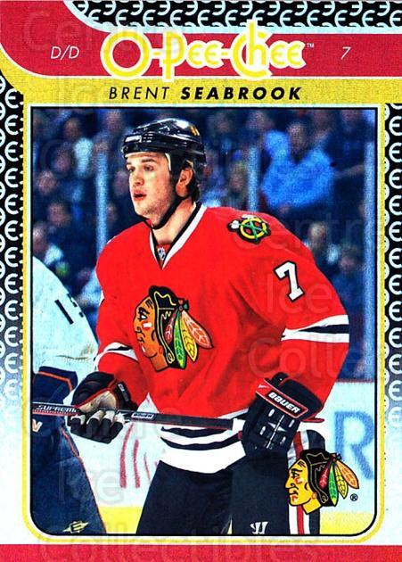 2009-10 O-pee-chee Rainbow #388 Brent Seabrook<br/>2 In Stock - $2.00 each - <a href=https://centericecollectibles.foxycart.com/cart?name=2009-10%20O-pee-chee%20Rainbow%20%23388%20Brent%20Seabrook...&quantity_max=2&price=$2.00&code=499711 class=foxycart> Buy it now! </a>