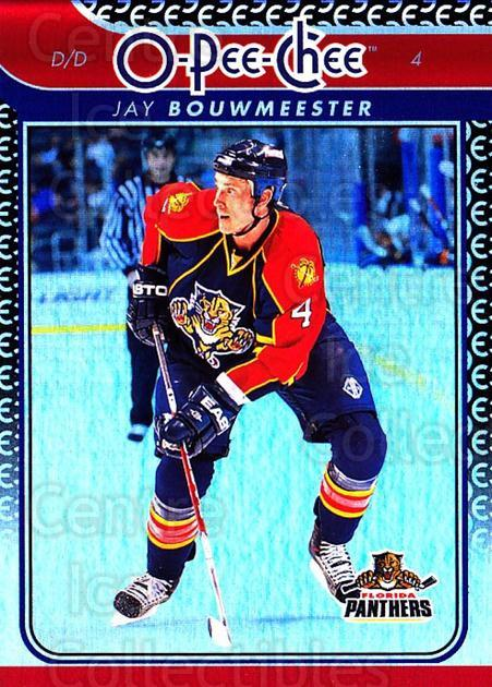 2009-10 O-pee-chee Rainbow #411 Jay Bouwmeester<br/>2 In Stock - $2.00 each - <a href=https://centericecollectibles.foxycart.com/cart?name=2009-10%20O-pee-chee%20Rainbow%20%23411%20Jay%20Bouwmeester...&quantity_max=2&price=$2.00&code=499734 class=foxycart> Buy it now! </a>