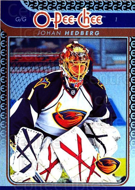 2009-10 O-pee-chee Rainbow #424 Johan Hedberg<br/>2 In Stock - $2.00 each - <a href=https://centericecollectibles.foxycart.com/cart?name=2009-10%20O-pee-chee%20Rainbow%20%23424%20Johan%20Hedberg...&quantity_max=2&price=$2.00&code=499747 class=foxycart> Buy it now! </a>