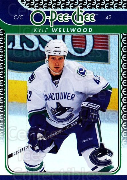 2009-10 O-pee-chee Rainbow #460 Kyle Wellwood<br/>2 In Stock - $2.00 each - <a href=https://centericecollectibles.foxycart.com/cart?name=2009-10%20O-pee-chee%20Rainbow%20%23460%20Kyle%20Wellwood...&quantity_max=2&price=$2.00&code=499783 class=foxycart> Buy it now! </a>