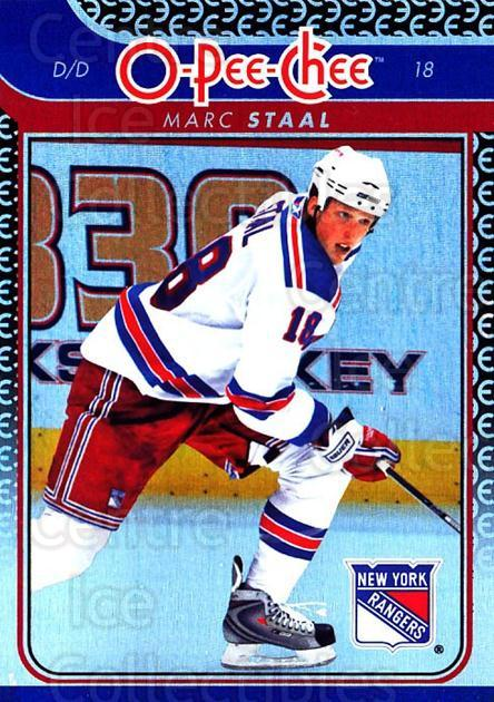2009-10 O-pee-chee Rainbow #474 Marc Staal<br/>2 In Stock - $2.00 each - <a href=https://centericecollectibles.foxycart.com/cart?name=2009-10%20O-pee-chee%20Rainbow%20%23474%20Marc%20Staal...&quantity_max=2&price=$2.00&code=499797 class=foxycart> Buy it now! </a>