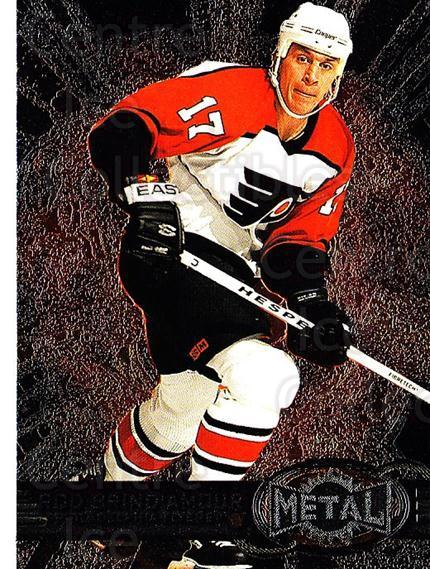 1996-97 Metal Universe #109 Rod Brind'Amour<br/>3 In Stock - $1.00 each - <a href=https://centericecollectibles.foxycart.com/cart?name=1996-97%20Metal%20Universe%20%23109%20Rod%20Brind'Amour...&quantity_max=3&price=$1.00&code=49984 class=foxycart> Buy it now! </a>