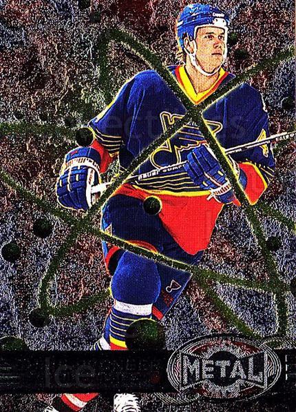 1996-97 Metal Universe #135 Chris Pronger<br/>4 In Stock - $1.00 each - <a href=https://centericecollectibles.foxycart.com/cart?name=1996-97%20Metal%20Universe%20%23135%20Chris%20Pronger...&quantity_max=4&price=$1.00&code=50012 class=foxycart> Buy it now! </a>